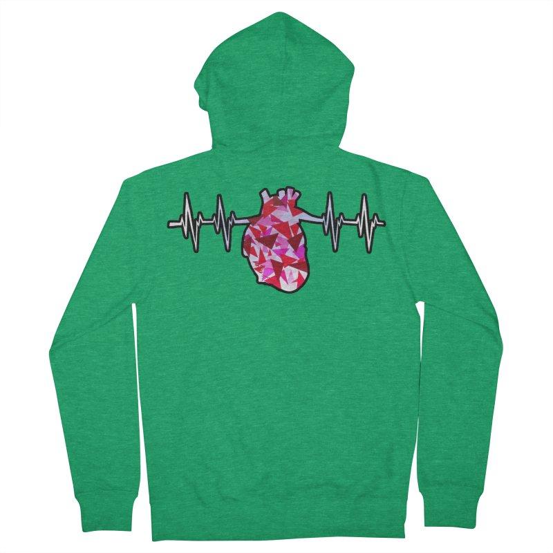 Heart Beats Women's Zip-Up Hoody by That5280Lady's Shop