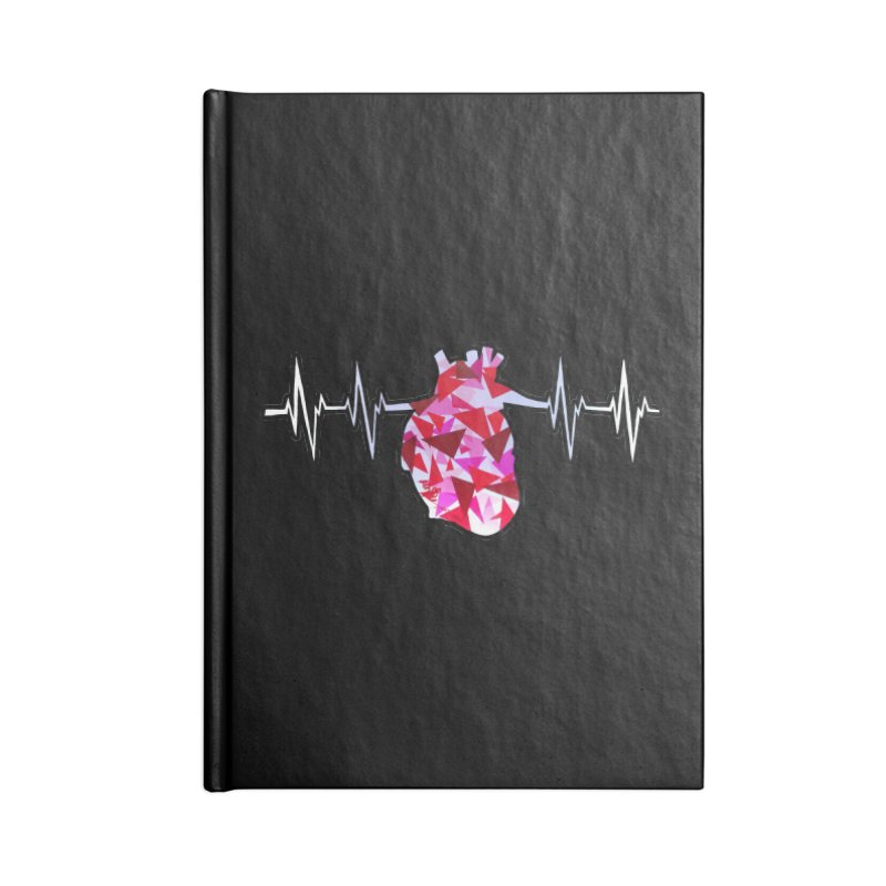 Heart Beats Accessories Notebook by That5280Lady's Shop