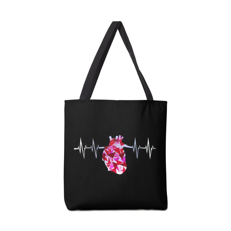 Heart Beats Accessories Bag by That5280Lady's Shop