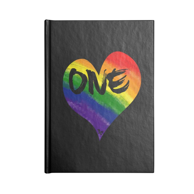 One Love Accessories Notebook by That5280Lady's Shop