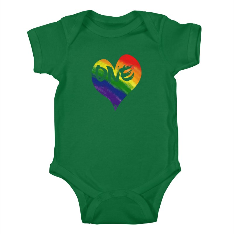 One Love Kids Baby Bodysuit by That5280Lady's Shop