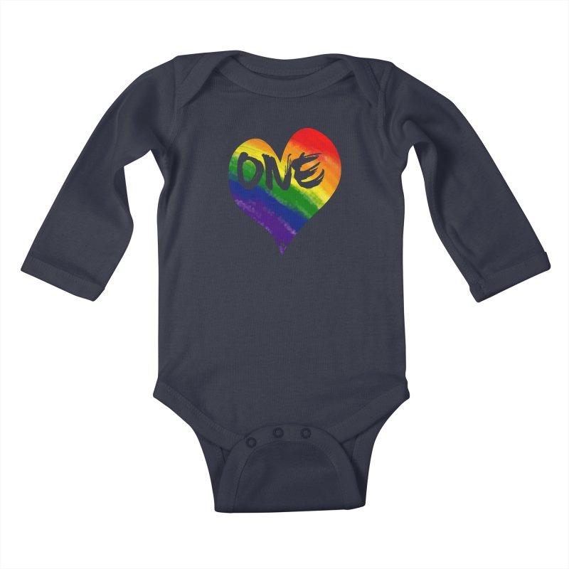 One Love Kids Baby Longsleeve Bodysuit by That5280Lady's Shop