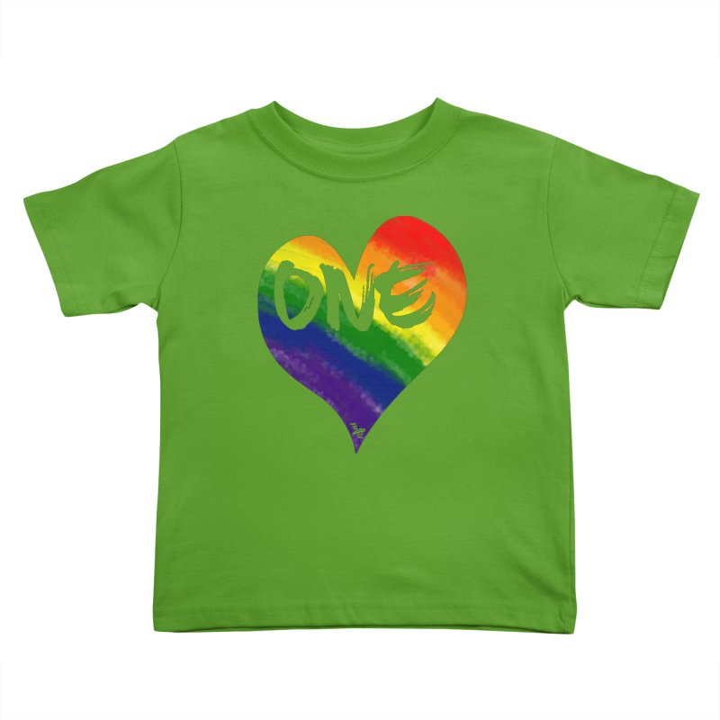 One Love Kids Toddler T-Shirt by That5280Lady's Shop