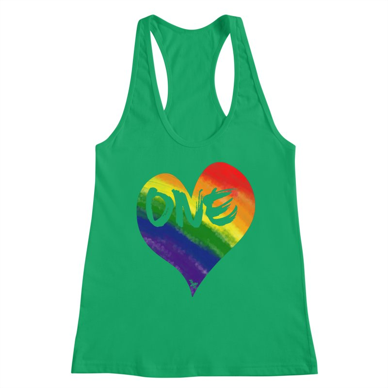 One Love Women's Tank by That5280Lady's Shop