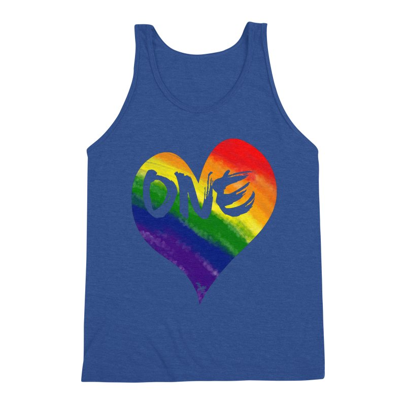 One Love Men's Tank by That5280Lady's Shop
