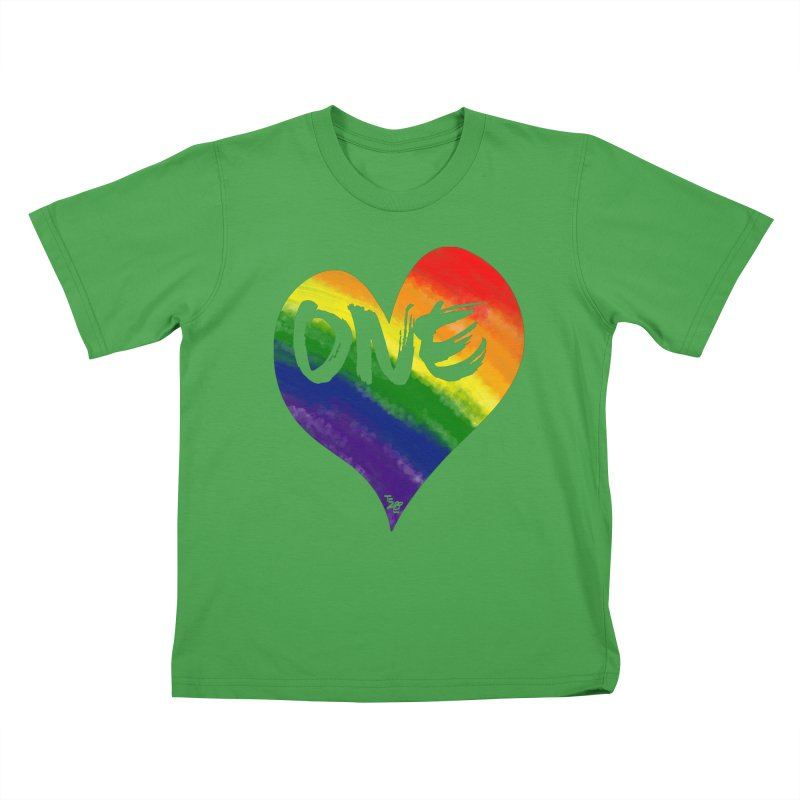One Love Kids T-Shirt by That5280Lady's Shop