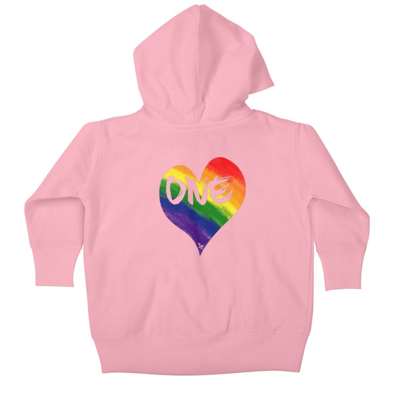 One Love Kids Baby Zip-Up Hoody by That5280Lady's Shop