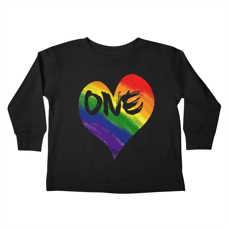 One Love Kids Toddler Longsleeve T-Shirt by That5280Lady's Shop