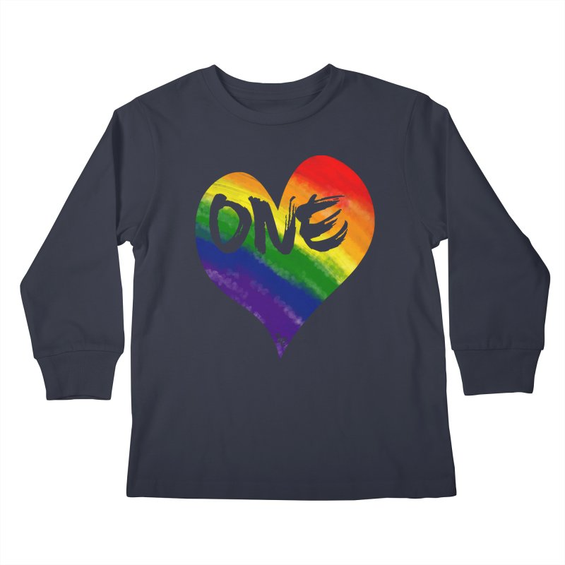 One Love Kids Longsleeve T-Shirt by That5280Lady's Shop