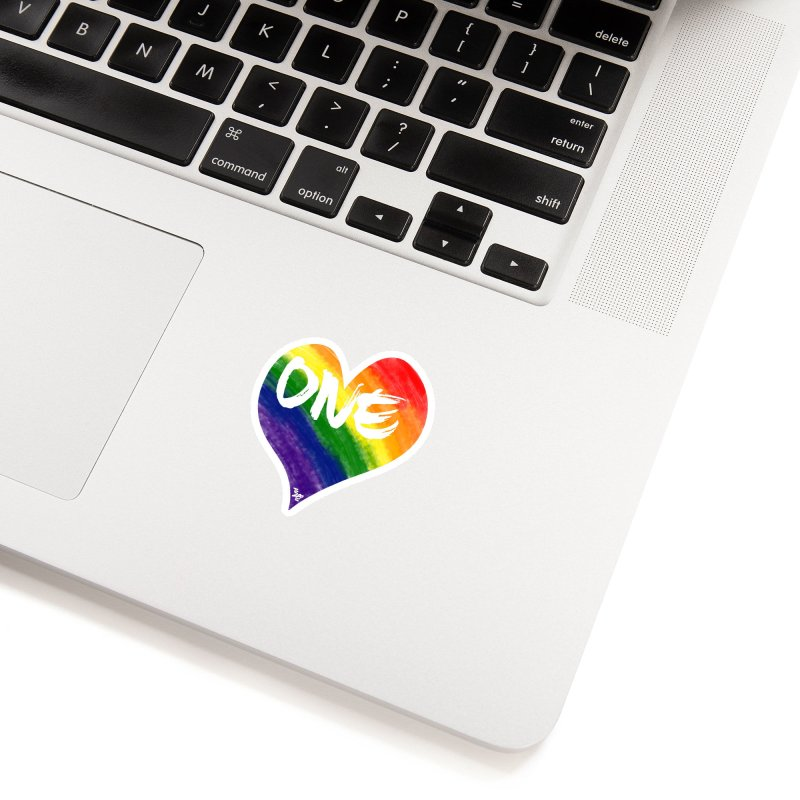 One Love Accessories Sticker by That5280Lady's Shop