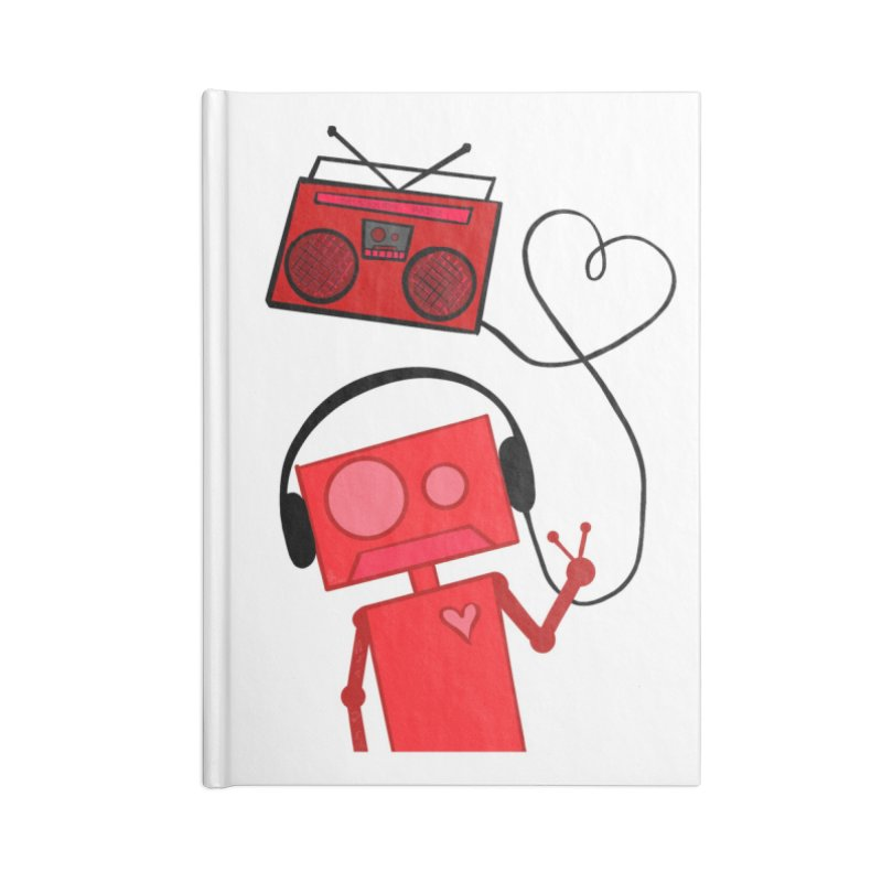 Love Songs Accessories Notebook by That5280Lady's Shop