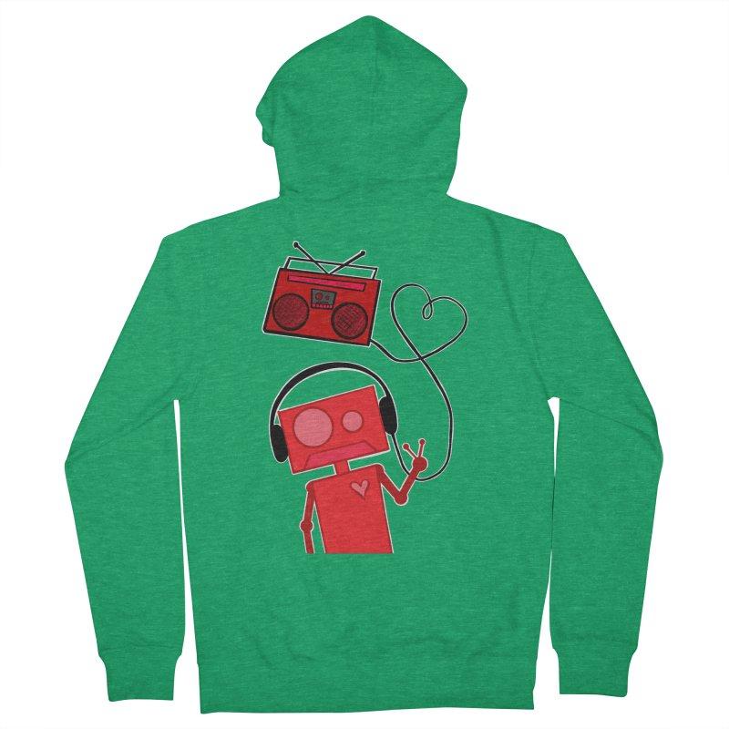 Love Songs Men's Zip-Up Hoody by That5280Lady's Shop