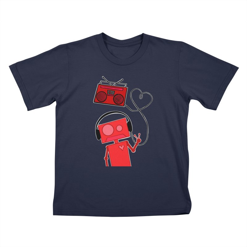 Love Songs Kids T-Shirt by That5280Lady's Shop