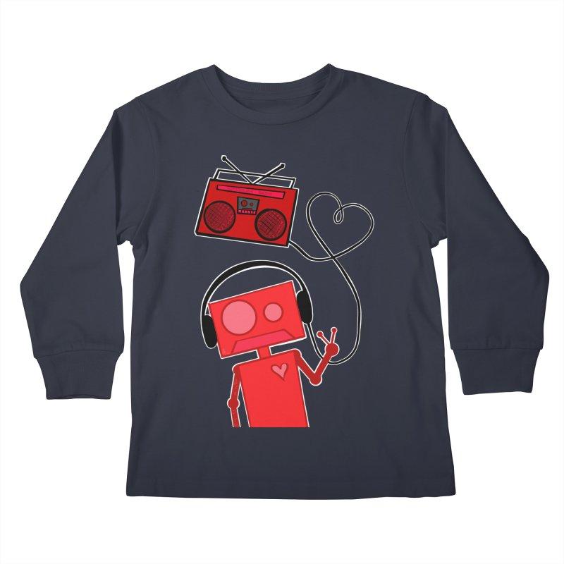 Love Songs Kids Longsleeve T-Shirt by That5280Lady's Shop