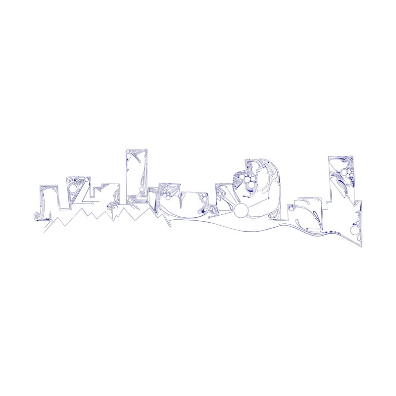 Denver Skyline Abstract Accessories Greeting Card by That5280Lady's Shop