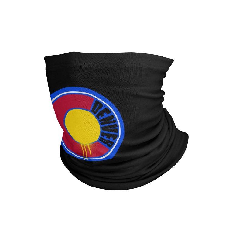 That Denver Colorado Drip Accessories Neck Gaiter by That5280Lady's Shop