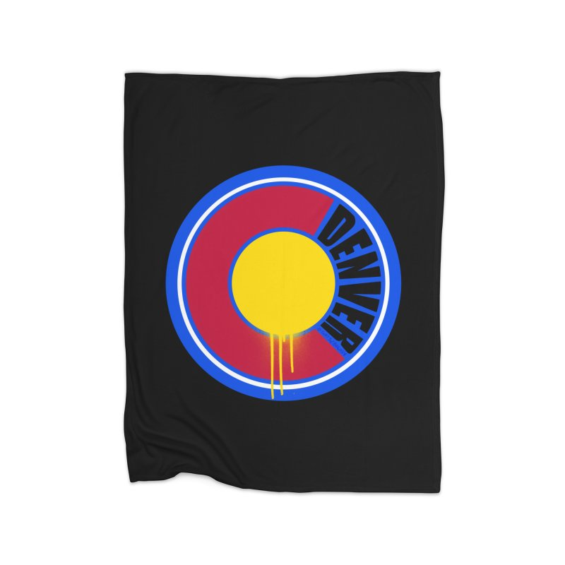 That Denver Colorado Drip Home Blanket by That5280Lady's Shop