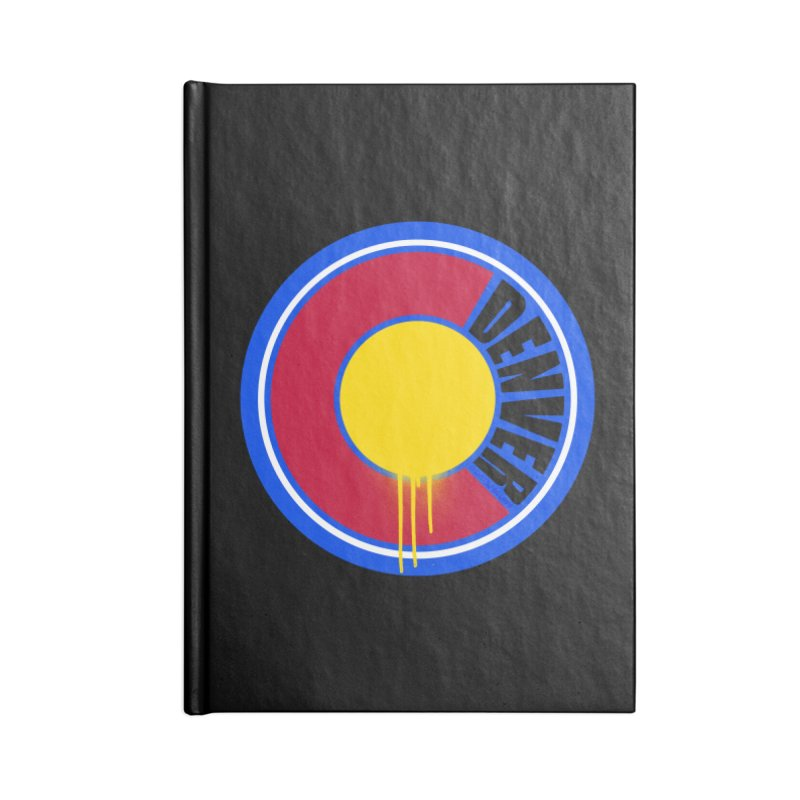 That Denver Colorado Drip Accessories Notebook by That5280Lady's Shop