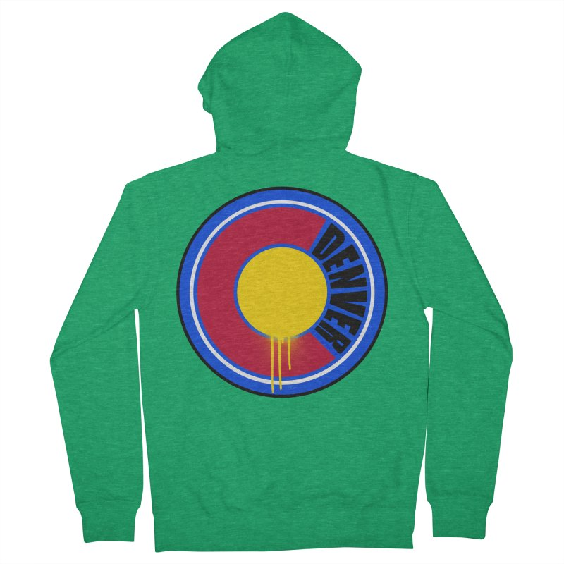 That Denver Colorado Drip Men's Zip-Up Hoody by That5280Lady's Shop
