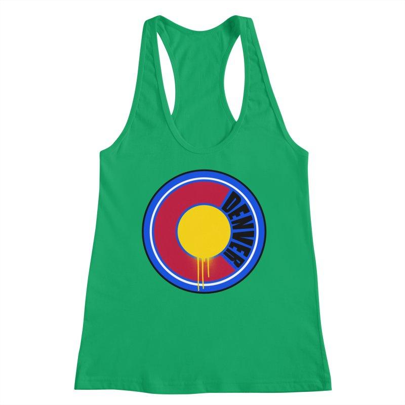 That Denver Colorado Drip Women's Tank by That5280Lady's Shop