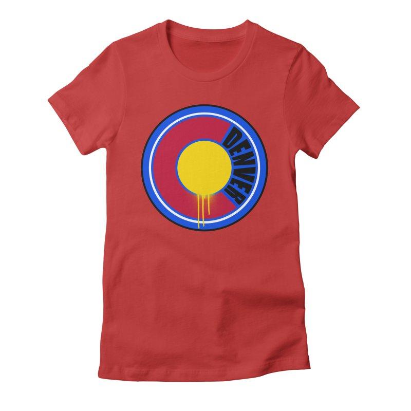 That Denver Colorado Drip Women's T-Shirt by That5280Lady's Shop
