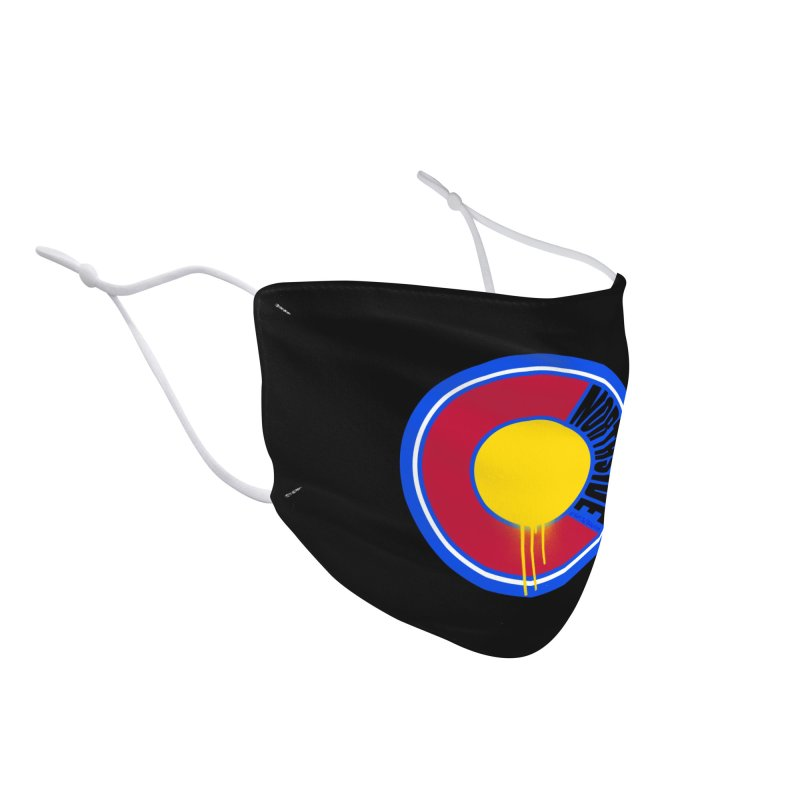 That Northside Colorado Drip Accessories Face Mask by That5280Lady's Shop