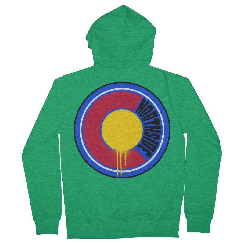 That Northside Colorado Drip Men's Zip-Up Hoody by That5280Lady's Shop