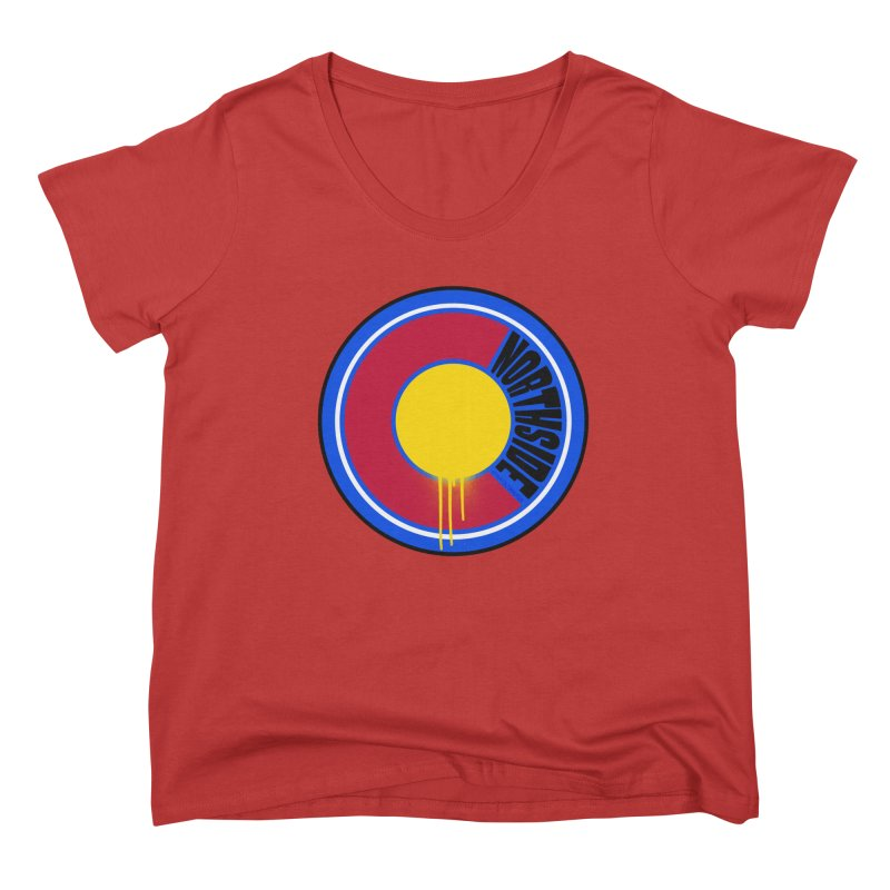 That Northside Colorado Drip Women's Scoop Neck by That5280Lady's Shop