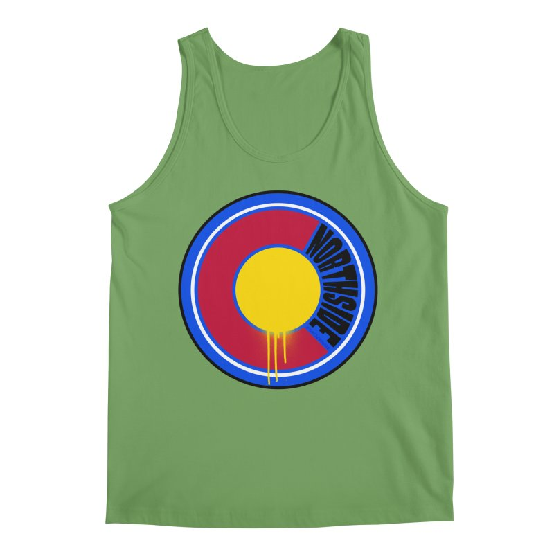 That Northside Colorado Drip Men's Tank by That5280Lady's Shop