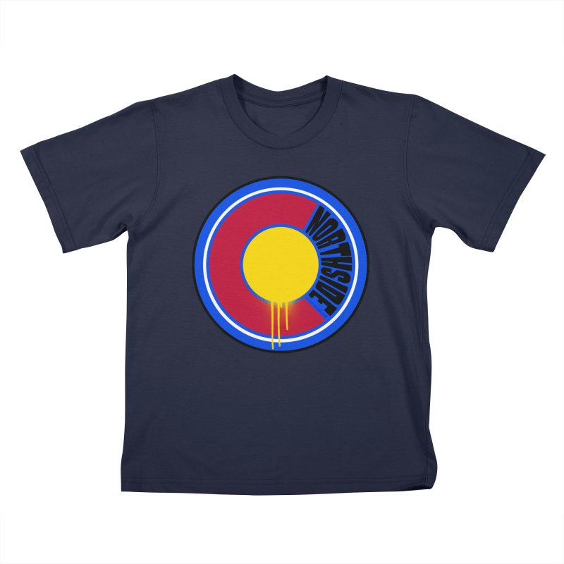 That Northside Colorado Drip Kids T-Shirt by That5280Lady's Shop