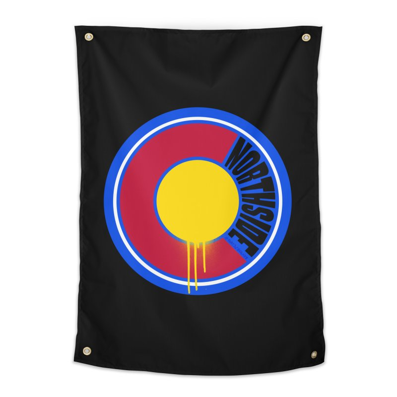 That Northside Colorado Drip Home Tapestry by That5280Lady's Shop