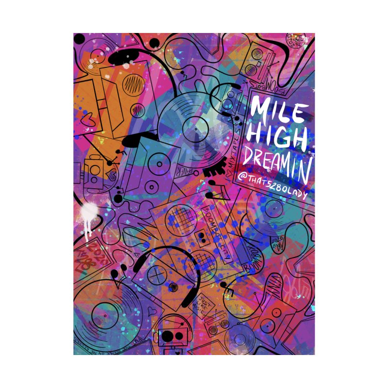 Mile High Dreamin Accessories Magnet by That5280Lady's Shop
