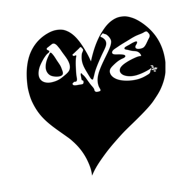 One Love - OG Black Heart Men's T-Shirt by That5280Lady's Shop
