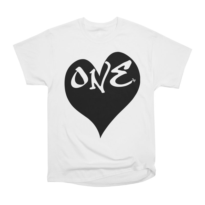 One Love - OG Black Heart Women's T-Shirt by That5280Lady's Shop