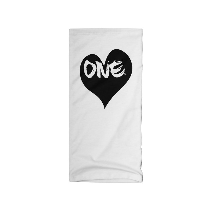 One Love - Black Heart 2.0 Accessories Neck Gaiter by That5280Lady's Shop