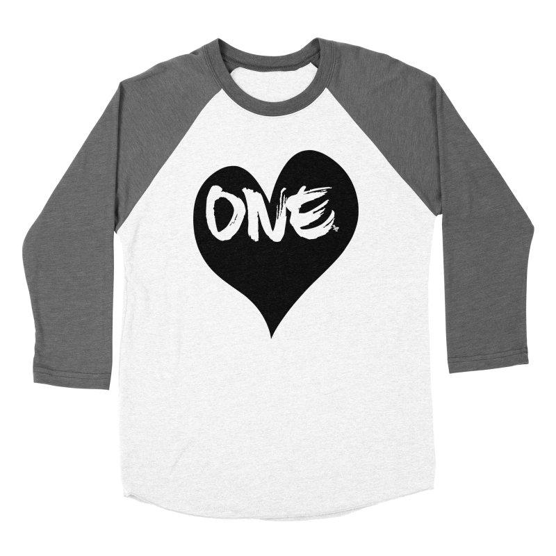 One Love - Black Heart 2.0 Women's Longsleeve T-Shirt by That5280Lady's Shop