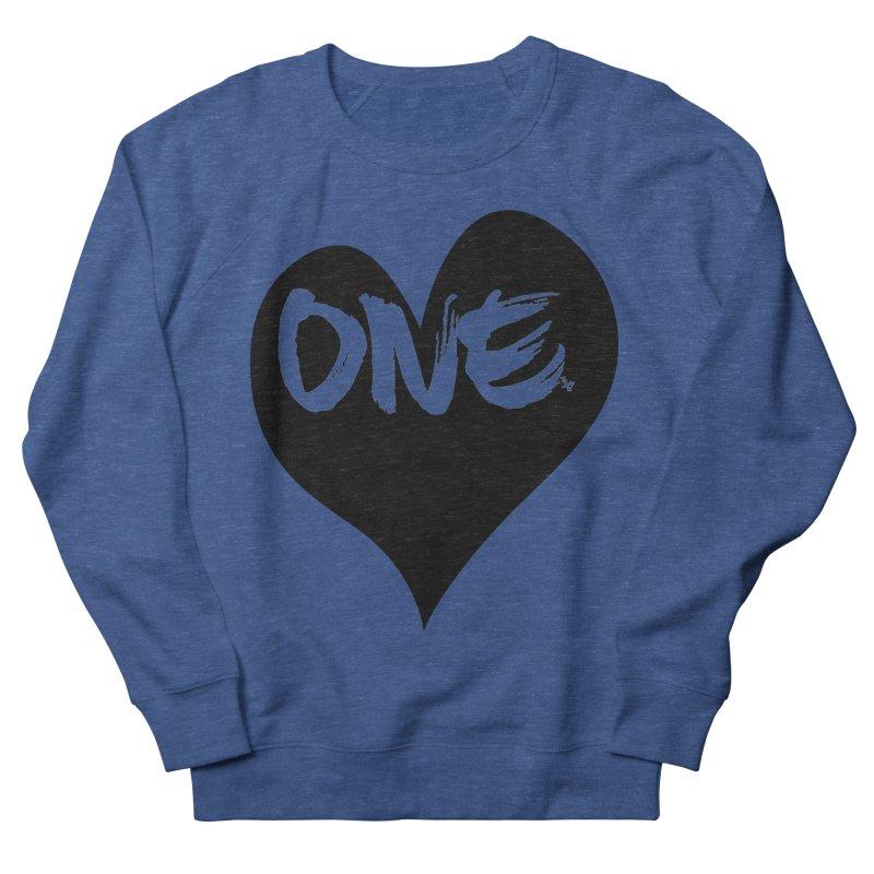 One Love - Black Heart 2.0 Men's Sweatshirt by That5280Lady's Shop