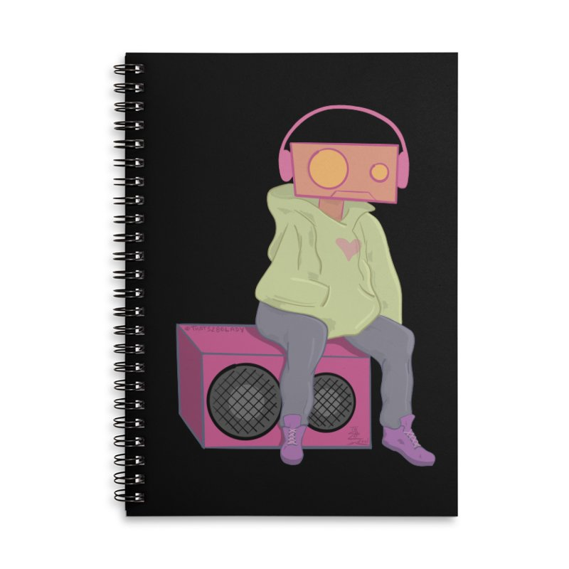 Thinking Bot Accessories Notebook by That5280Lady's Shop