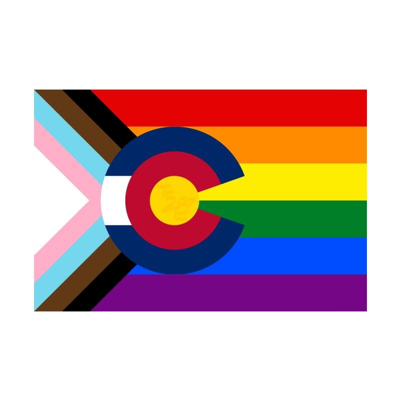 Colorado LGBTQIA2S+ Progress Flag Men's T-Shirt by That5280Lady's Shop
