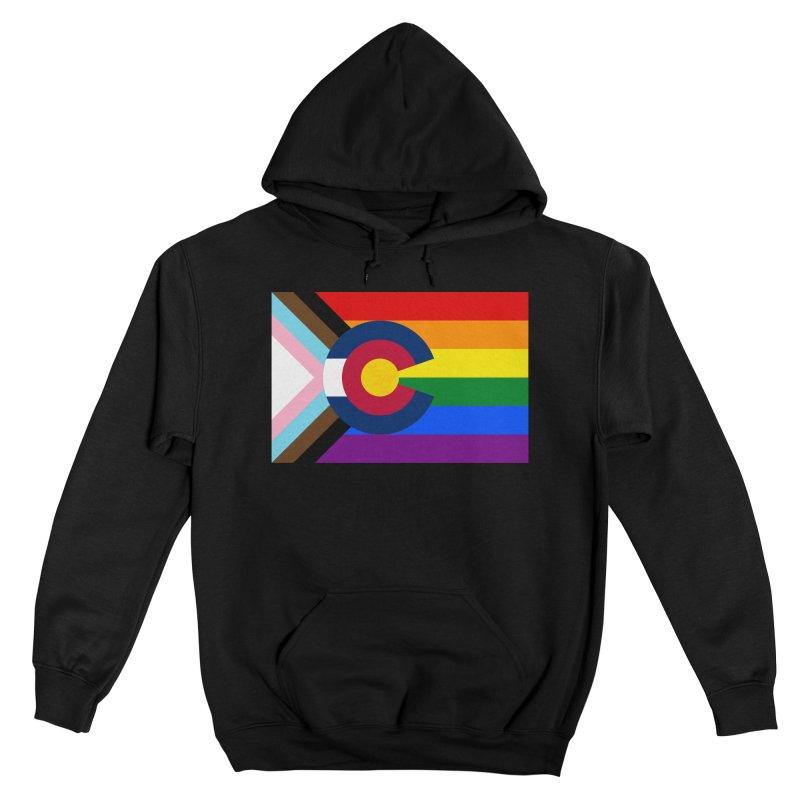 Colorado LGBTQIA2S+ Progress Flag Men's Pullover Hoody by That5280Lady's Shop
