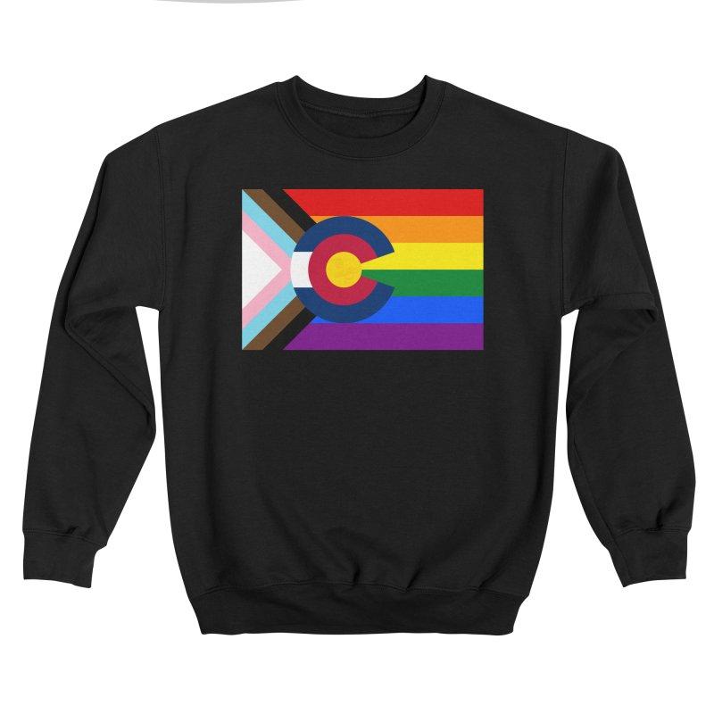 Colorado LGBTQIA2S+ Progress Flag Men's Sweatshirt by That5280Lady's Shop