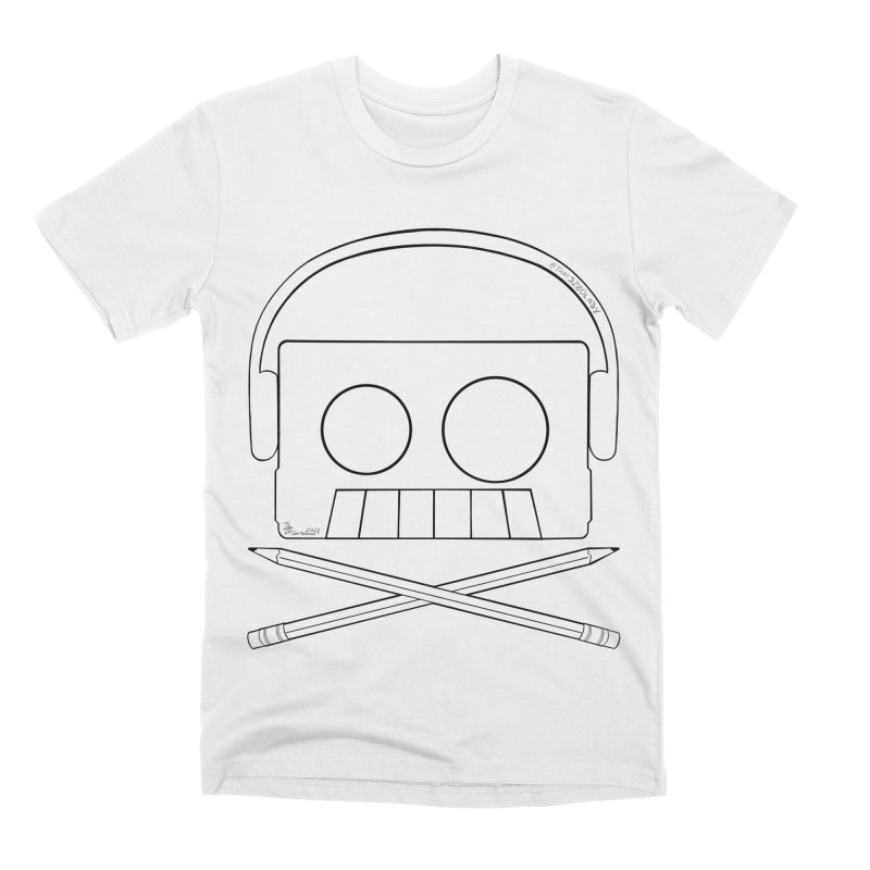 X Marks The Beats Men's T-Shirt by That5280Lady's Shop