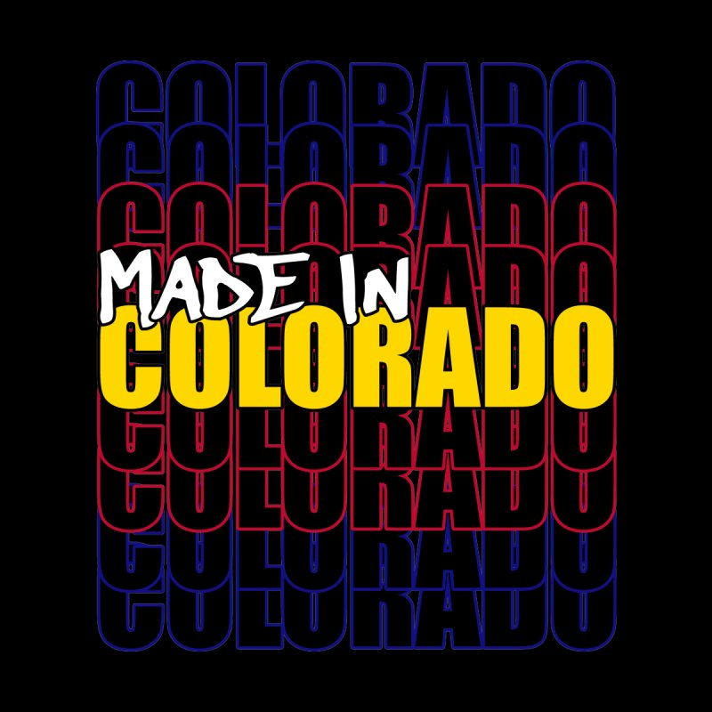 Made In Colorado Typography Flag Home Duvet by That5280Lady's Shop