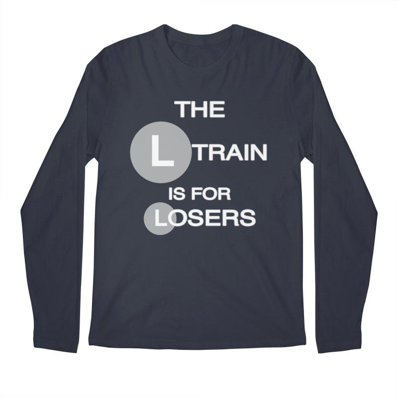 L Train Men's Regular Longsleeve T-Shirt by Shirts That Never Happened