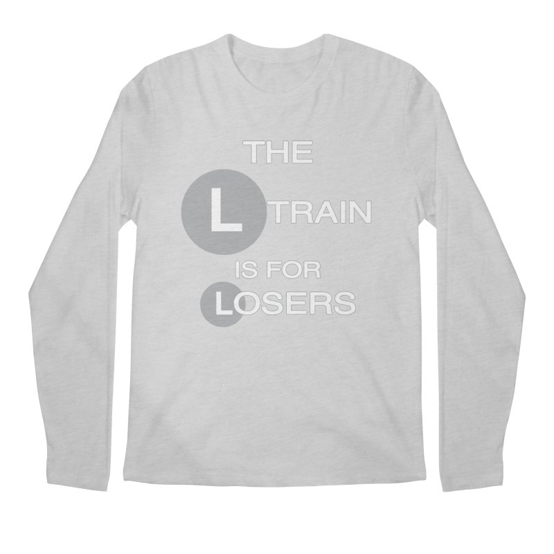 L Train Men's Longsleeve T-Shirt by Shirts That Never Happened