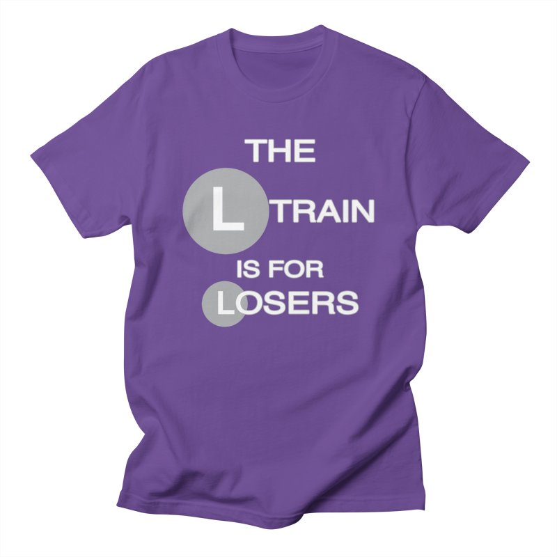 L Train Women's Unisex T-Shirt by Shirts That Never Happened