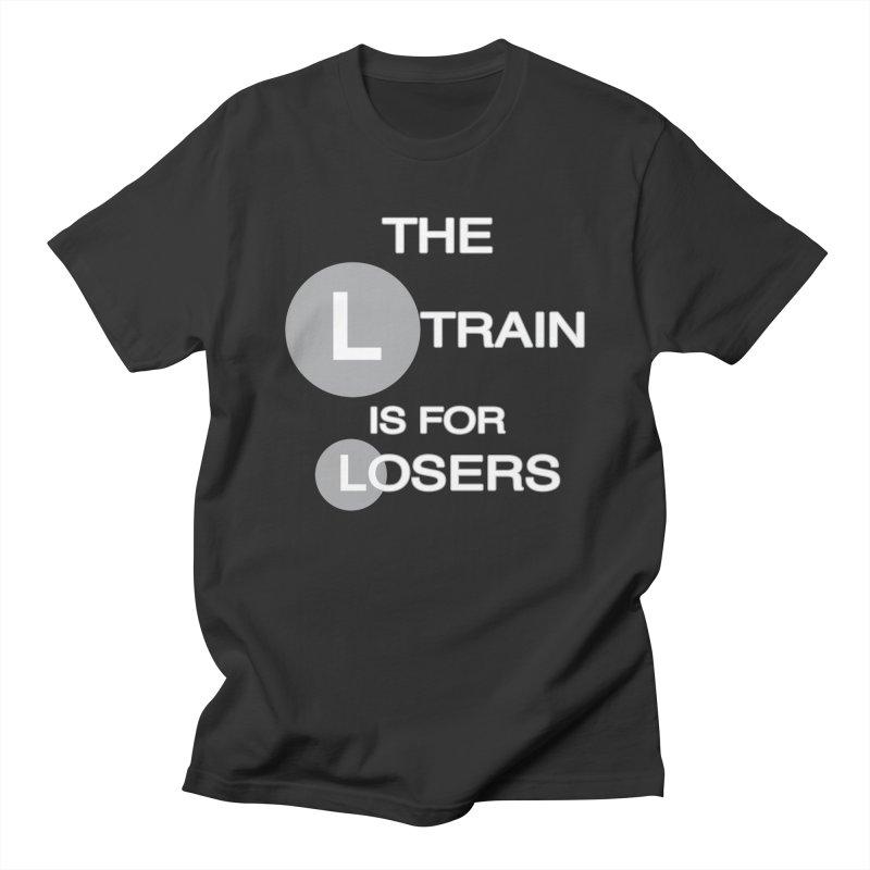 L Train Women's Regular Unisex T-Shirt by Shirts That Never Happened