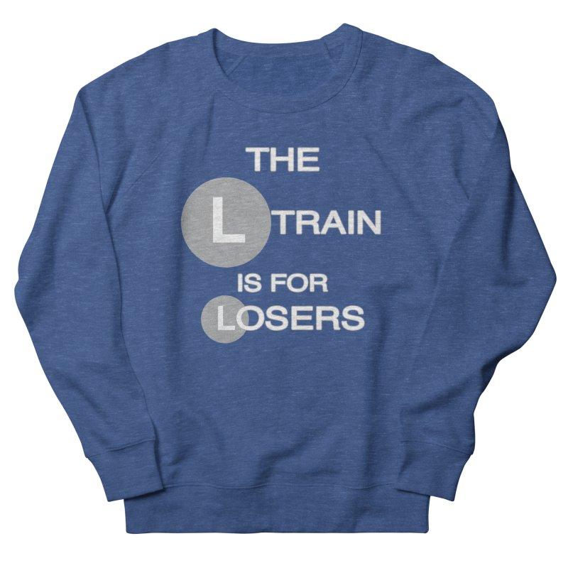 L Train Men's Sweatshirt by Shirts That Never Happened