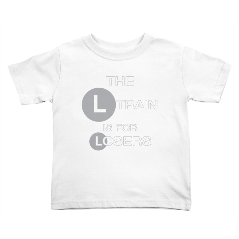 L Train Kids Toddler T-Shirt by Shirts That Never Happened
