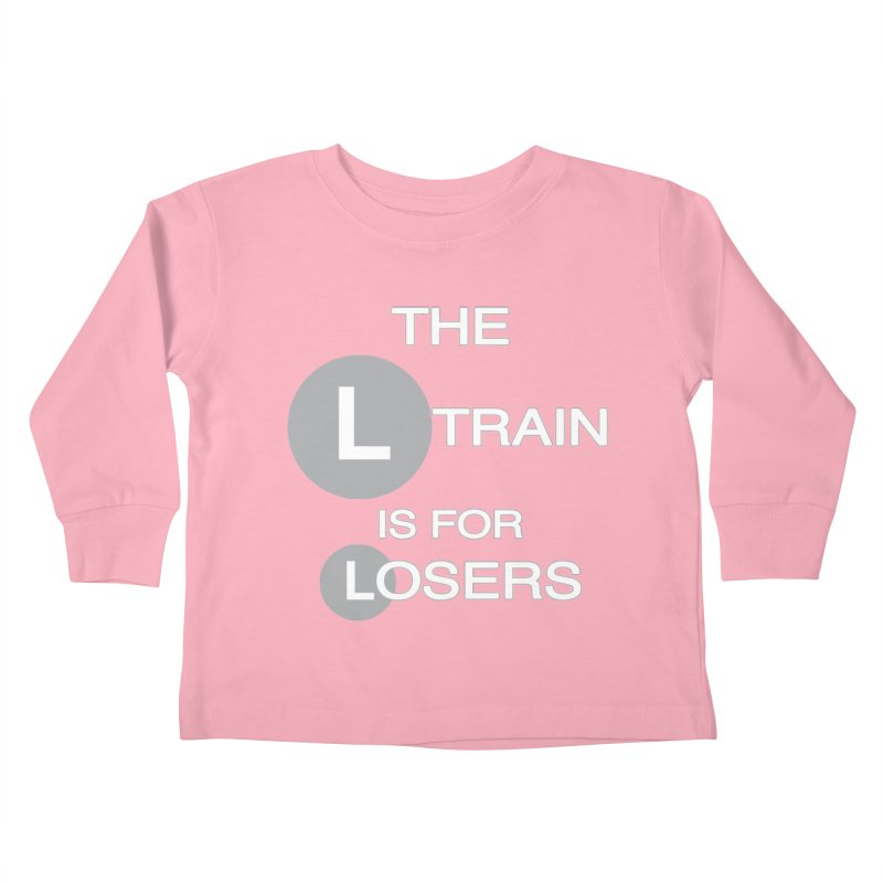 L Train Kids Toddler Longsleeve T-Shirt by Shirts That Never Happened
